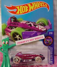 Case B 2016 Hot Wheels ARROW DYNAMIC #52 ☆ Purple; oh5; 4☆HW GLOW WHEELS
