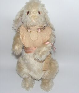 Artist Bear Wendy Brent Noses of Roses #19/50 Mohair jointed BUNNY RABBIT HOPSY