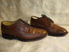 Men's FLORSHEIM IMPERIAL Leather Brown Shoes Size 9 1/2
