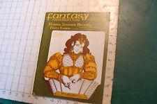 Vintage High Grade FANTASY Newsletter MARION ZIMMER BRADLEY sept 1982 #51; 38pgs