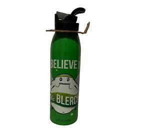 Liberty Bottleworks I Believe in The Blerch Water Bottle Green NEW