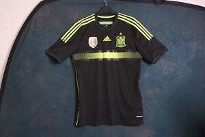 Spain medium away 2013 2015 football shirt jersey top 2013-15