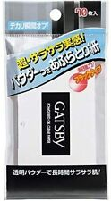 GATSBY Oil Clear Powdered Blotting Paper 70 sheets Mandom Japan