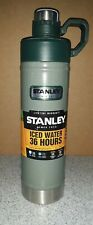 Stanley Classic Vacuum Water Bottle: Hammertone Green, 25oz 20-01389