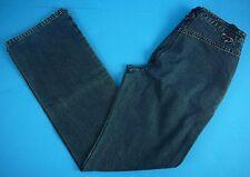 Women's Moda International Blue Denim Cotton Jeans 8 Made in Hong Kong VTG 80s