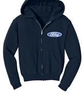 Ford Men's Hoodie Embroidery Logo  Automobile Car Hooded  Ford