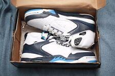 NOS NEW IN BOX 2009 Air Jordan 60 Plus Woman 7.5 White Blue Moon Shoes RARE COND