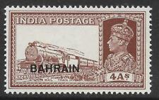 Bahrain 1941 4a. Brown SG 28 (MNH)