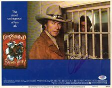 Clint Eastwood Signed Bronco Billy 11x14 Lobby Card Photo PSA/DNA COA Autograph