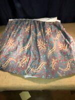 Ralph Lauren Colette Paisley Queen Bed Skirt