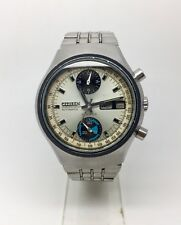 Vintage Citizen Chronograph 8110 Flyback Automatic Watch Stainless Steel