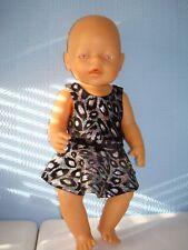 "Handmade Lycra Leotard and skirt  ideal for a 18"" doll or build a bear"