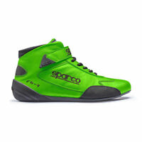FIA Shoes SPARCO CROSS RB-7 Racing RB7 Boots Race Green CLEARANCE SALE!
