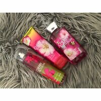 Bath & Body Works- Cherry Blossom Fragrance Mist, Shower Gel, & Body Lotion Set
