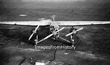 8x10 Print Ford Trimotor Refueling at Boston Airport 1929 #838