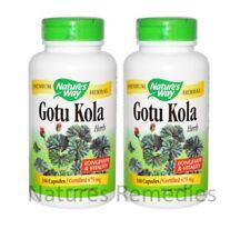 Nature's Way, Gotu Kola Herb, 475 mg, 360 Capsules