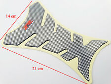 Oil Tank Pad Protector Decal Sticker 3D Gel Carbon Look Suzuki GSX-R Motorcycle