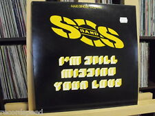 "★★ 12"" MAXI-S.O.S. BAND-I 'm still missing your love (12"" MIX 5:18)"