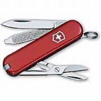 RED VICTORINOX CLASSIC SD SWISS ARMY POCKET KNIFE MULTI TOOL BLADE SAK KEYCHAIN