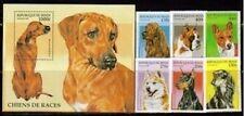 Benin 980-86 Dogs Mint NH