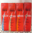 Wella Color Touch Shine Enhancing PERMANENT Hair Color Series 0 ornge bx