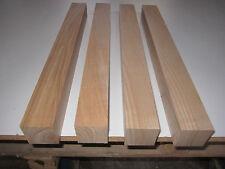 4 Esche Tischbeine (€14,98/m) 50x50x500mm 4-seitig gehobelt Tischbein Kantholz