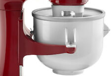 KitchenAid KICA Ice Cream Maker Stand Mixer Attachment KICAO Frozen Yogurt Sorbt