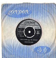 "Roger Williams - Lara's Theme From Dr Zhivago 7"" Sgl 1966"