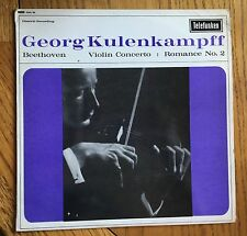 Beethoven Concerto per violino UK 1966 LP Telefunken GMA 96, Georg kulenkampff Violino