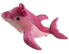"Aurora Pink Sparkly Dolphin Plush Stuffed Animal 13"" Silver Dots Girlz Nation"