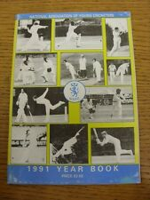 1991 Cricket: National Association Of Young Cricketers - Yearbook. Thanks for ta