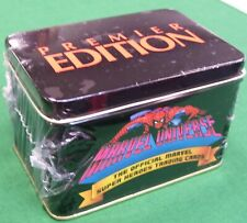 MARVEL UNIVERSE PREMIER EDITION Collector's Tin Set 1990 #396/4000