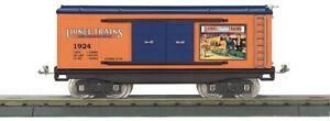 MTH Tinplate 11-30243 214 Std. Gauge Box Car - Lionel Lines (1924 Catalog Cover)