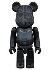 Medicom 2015 Expo Be@rbrick Star Wars 100% Darth Vader Chrome Bearbrick 1pc