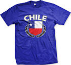 Chile Shield Crest Coat Of Arms Chilean Country Born From CHL CL Men's T-Shirt
