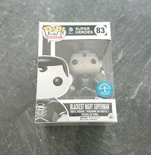 Blackest Night Superman Funko Pop - DC Comics - Exclusive - Pop Heroes