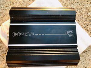 ORION XTR5002 500w RMS 2 CH CLASS AB Car Audio Amplifier BuyitNow OLD SCHOOL VGC