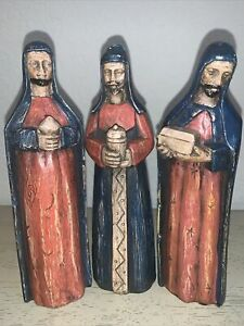"Southern Living at Home Santos Three Wisemen from Nativity Set 7 1/2"" Tal"