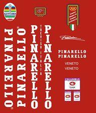 PINARELLO VENETO  FRAME DECAL SET WHITE or black