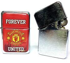 """""""Manchester United"""" - Accendino Tristar - Tristar Lighter - Encendedor Tristar"""