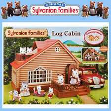NEW SYLVANIAN FAMILIES LOG CABIN DOLL HOUSE HOLIDAY HIDEAWAY 4370