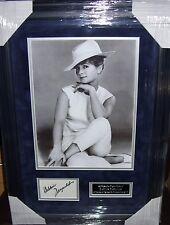 DEBBIE REYNOLDS  Vintage Signed Montage AFTAL