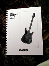 CASIO PG-380 / PG380  Owners / Instructions booklet - Comb Bound / soft cover