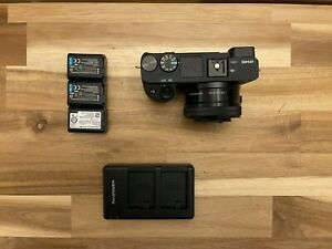 Sony Alpha A6400 24.2MP Digital Camera with 16-50mm - Lower Shutter Count
