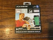 XTREME CABLES XFIT FITNESS WATCH SMARTPHONE NEW SEALED GRAY Wireless Activity
