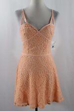 Love Fire Lace Shift Coctail Dress Size 4 #D197