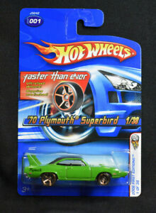 Hot Wheels 2006 First Editions 1/38 '70 Plymouth Superbird #001 FTE Variation