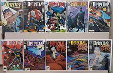 Detective Comics #600 597 598 599 601 602 603 604 605 606 - ALL NM - CGC READY