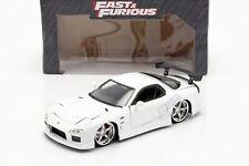 Mazda RX-7 1993 Fast & Furious weiß 1:24 Jada Toys