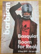 BASQUIAT Affiche officielle pour exposition Boom pour de vrai, BARBICAN 2017